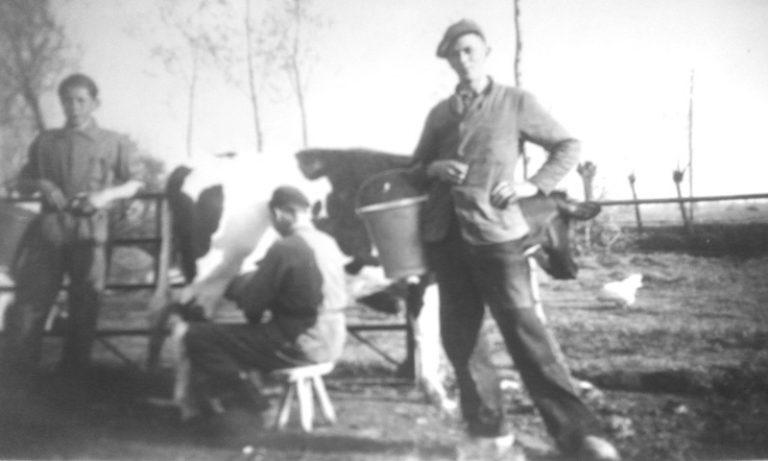 Arie van Vliet in 1954