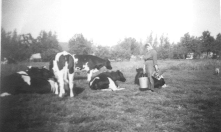 Rijkje van Vliet in 1945